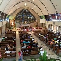 Photo taken at San Ildefonso Parish by Robert R. on 3/31/2013