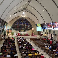 Photo taken at San Ildefonso Parish by Robert R. on 1/19/2014