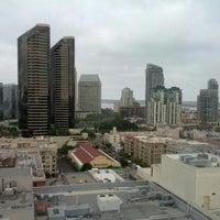 Photo taken at San Diego Marriott Gaslamp Quarter by Katie G. on 10/7/2012