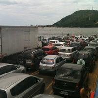 Photo taken at Ferry Boat Caiobá - Guaratuba by Fernando M. on 2/11/2013