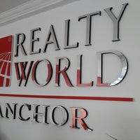 Photo taken at Realty World Anchor by Tekin on 12/22/2014