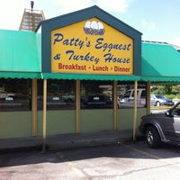 Photo taken at Patty's Eggnest & Turkey House in Arlington by David A. on 5/19/2014