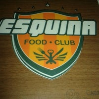 Photo taken at Esquina Food Club by Lucila A. on 5/18/2014