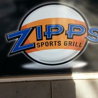 Photo taken at Zipps Sports Grill by Thomas S. on 10/27/2013