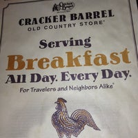 Photo taken at Cracker Barrel Old Country Store by Otis C. on 12/20/2012