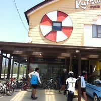 Photo taken at カツリーズサイクル by Takuji Y. on 5/5/2012
