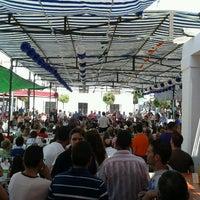 Photo taken at Plaza de la Constitución by Miguel H. on 7/16/2012