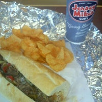 Photo taken at Jersey Mike's Subs by Joey M. on 2/2/2012
