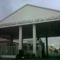 Photo taken at Universidad Nacional de La Matanza (UNLaM) by Santiago F. on 8/8/2012