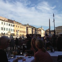 Photo taken at Cafe Bernini by Peter C. on 5/12/2012