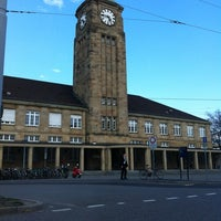 Photo taken at Basel Baden Railway Station by Guido O. on 3/17/2012