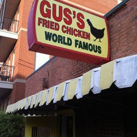 Photo taken at Gus's World Famous Hot & Spicy Fried Chicken by Aj O. on 3/16/2012