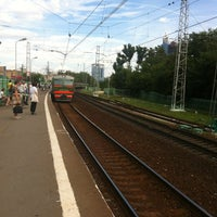 Photo taken at Ж/Д станция Фили by Nataliya on 7/15/2012