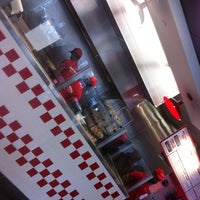 Photo taken at Five Guys by Alex P. on 4/28/2012