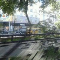 Photo taken at Остановка «Сакко и Ванцетти» by Gordey K. on 6/27/2012