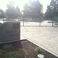 Photo taken at Sunnyvale Skate Park by Eric G. on 2/20/2012