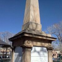 Photo taken at Santa Fe Plaza by Danny P. on 3/5/2012