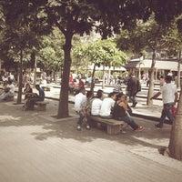 Photo taken at Plaza Luis Brión by Carlos O. on 8/23/2012
