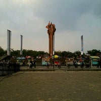 Photo taken at Lapangan Tegalega by Vicka S. on 9/8/2012