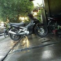 "Photo taken at Cuci Motor ""Kinclong"" by Fajar""ai""tama on 6/15/2012"