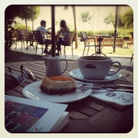 Photo taken at Caffé Nero by Ozge B. on 6/13/2012
