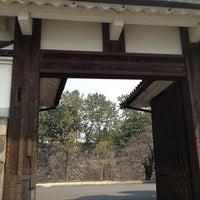 Photo taken at Sakuradamon Gate by Mariko S. on 3/28/2012