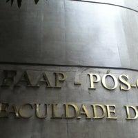 Das Foto wurde bei Pós Graduação FAAP von Thiago R. am 7/7/2012 aufgenommen