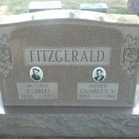 Photo taken at Estelle Fitzgerald grave by Travis S. on 7/17/2012