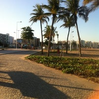 Photo taken at Calçadão de Camburi by Nina G. on 7/23/2012