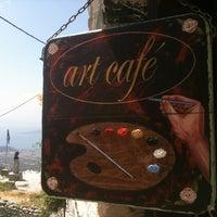 Photo taken at Art Cafe by Athena on 8/12/2012