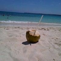 Photo taken at Playa Blanca by Diana Maria C. on 6/15/2012