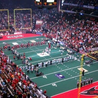 Photo taken at Jacksonville Veterans Memorial Arena by John L. on 7/14/2012