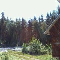 Photo taken at Rönönlahti by Arja V. on 7/25/2012