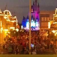 Photo taken at Walt Disney World Railroad - Main Street Station by Christine T. on 2/29/2012