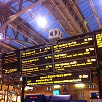 Photo taken at London Marylebone Railway Station (MYB) by Simon W. on 6/10/2012