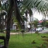 Photo taken at Fakultas Ilmu Sosial dan Ilmu Politik Universitas Mulawarman by Bear H. on 7/26/2012