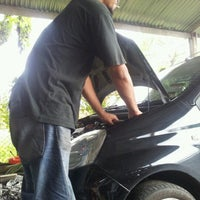Photo taken at Maxima autoworks by Cinta B. on 6/11/2012