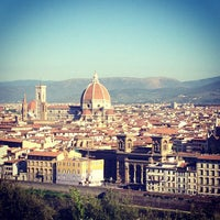 Photo taken at Piazzale Michelangelo by Anna S. on 9/9/2012