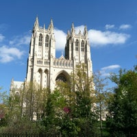 Photo taken at Washington National Cathedral by Brian M. on 4/1/2012