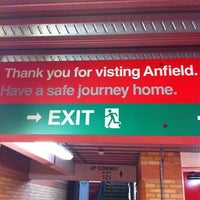 Photo taken at Anfield by Phil J. on 8/12/2012