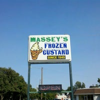 Photo taken at Massey's Frozen Custard by Daron on 8/30/2012