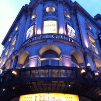Photo taken at Gielgud Theatre by Priya T. on 4/6/2012