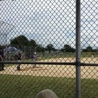 Photo taken at Hurlock Little League Fields by Erick 'EAlexStark' R. on 7/14/2012