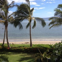 Photo taken at Lahaina Shores Beach Resort by Azin on 6/28/2012