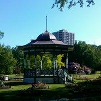 Photo taken at Halifax Public Gardens by KW on 6/17/2012