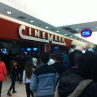 Photo taken at Cinemark by Leonardo T. on 5/6/2012