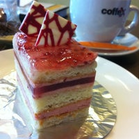 Photo taken at WheatField Bakery & Cafe by Zahira H. on 5/22/2012