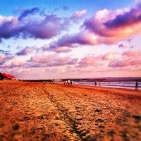 Photo taken at Legian Beach by Adytya H. on 9/10/2012