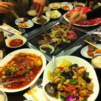 Photo taken at Seoul Garden Restaurant by Laura C. on 2/25/2012