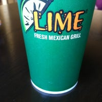 Photo taken at Lime Fresh Grill by Marci R. on 7/19/2012